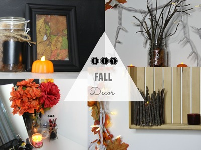 DIY: Fall Room Decor + make your room cozy ❤︎ Kate Hall