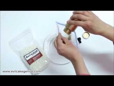 DIY - Gold Sugar Pearls