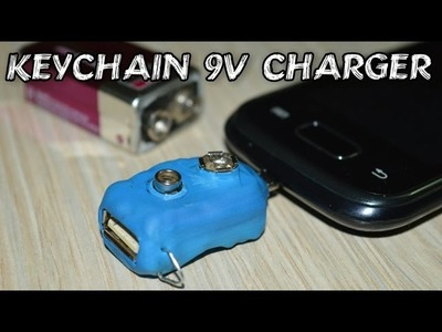 DIY Keychain Phone Charger - Don't Leave Home Without It !!!