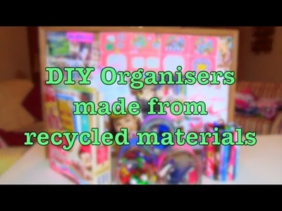 DIY Organisers Made From Recycled Materials | Haley & Bronwen