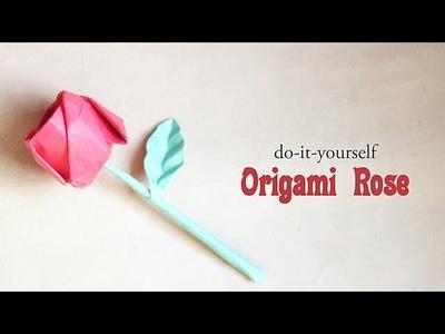 DIY : Origami Rose