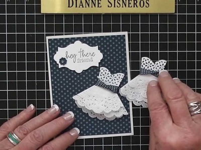 Doily and Lace Dress Video. .