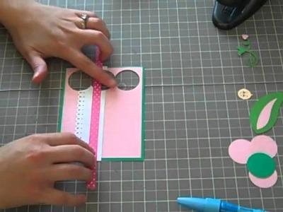 Episode 9 - Sweet Pea Pop Up Card