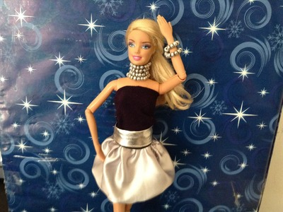 EPISODIO 74.COMO HACER FALDA  para barbie  MODELO 1