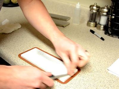 Hair Whittling Mirror Edge Using the Revised Beginner Free Hand Kit