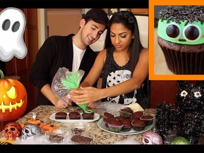 HALLOWEEN DIY: FRANKENSTEIN CUPCAKES FAIL!