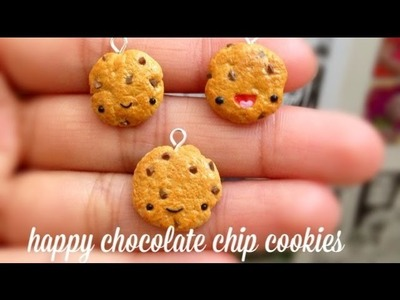 Happy Chocolate Chip Cookie Tutorial