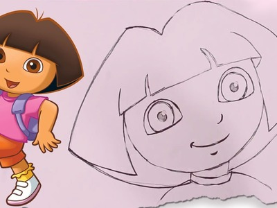 How to Draw Dora by HooplaKidz Doodle | Drawing Tutorial