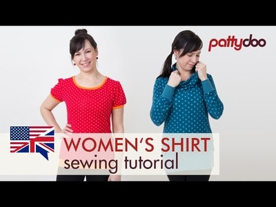 How to Sew a T-Shirt for Women - A Step by Step Sewing Tutorial