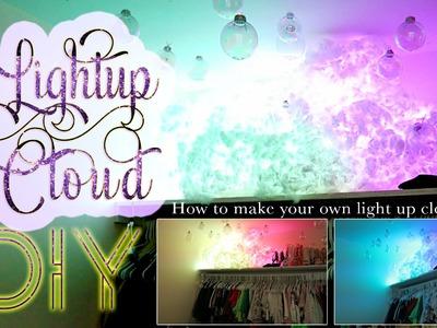Light up cloud DIY