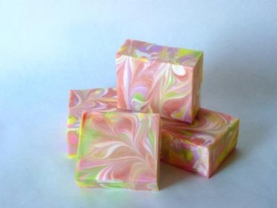 Making Fruit Orchard Soap