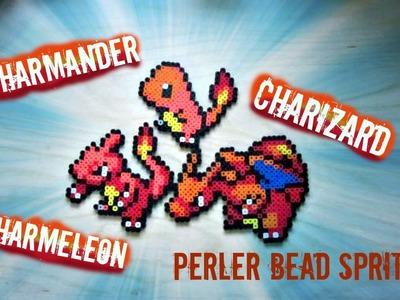 Perler Bead Pokémon: Charmander, Charmeleon, Charizard (#4-6)