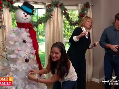 Tanya Memme DIY: How to make a Snowman Tree!