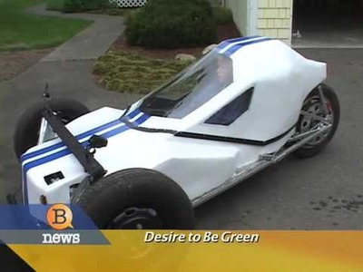 Teenager Builds Electric Car - $.02 a mile to operate!