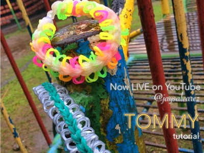TOMMY Rainbow Loom bracelet tutorial