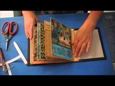 Tutorial Mini Álbum com Envelopes C4 3ªparte