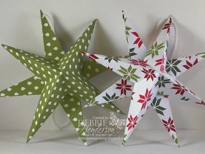 3D Designer Paper Star