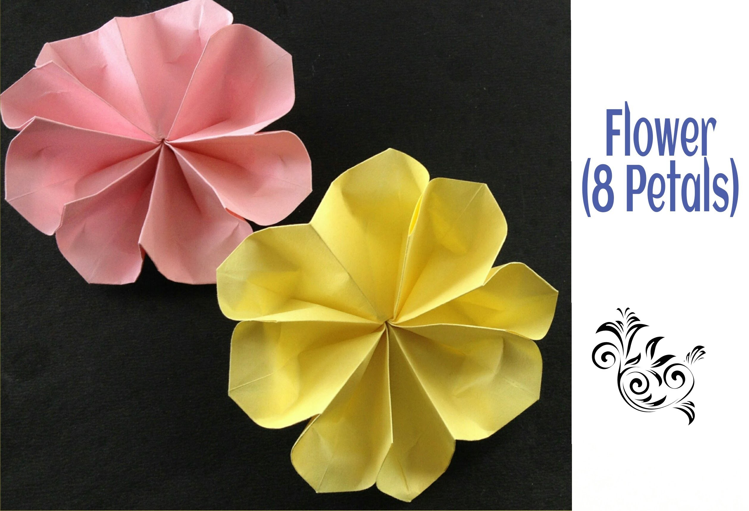 Origami Flower With 1 Paper 7185612 Airhumidifierfo