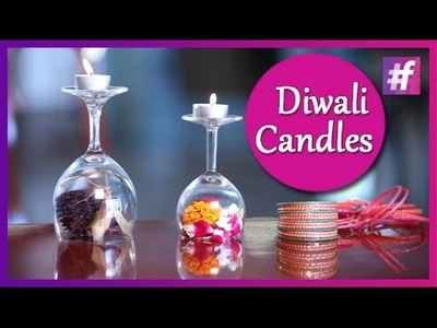 Decorative Candle Holders - DIY - Style Coquettes