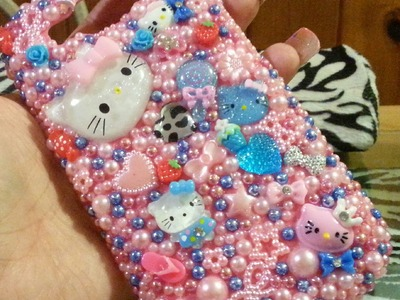 DIY phone case.