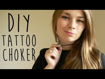 DIY Tattoo Choker | LDP