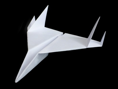 FIGHTER JET paper airplane - No.14