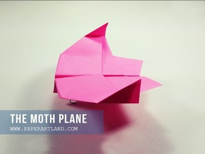 HOW TO MAKE A PAPER AIRPLANE - paper plane that Flies | The Moth