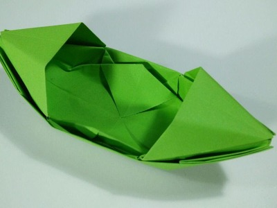 How to make a paper boat - Easy origami