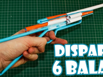 How to Make a Paper Revolver Rifle