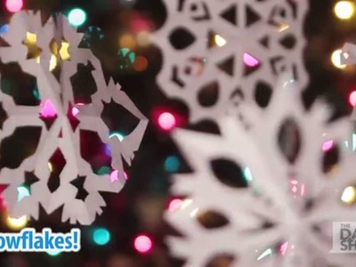 How to: Make a paper snowflake