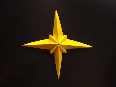 How to make paper star origami