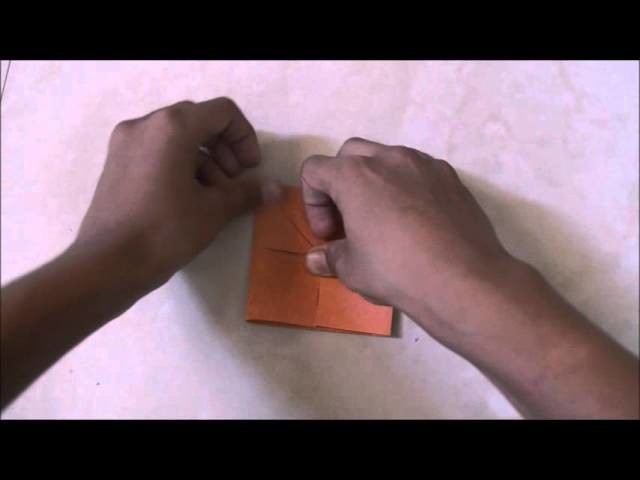 How to make the paper Finger Tip Fox