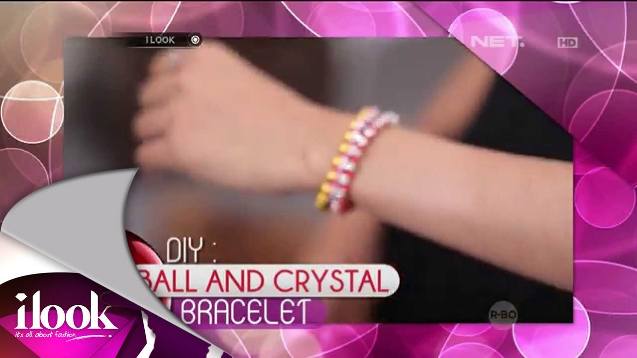 ILook - DIY - Ball And Crystal Bracelet