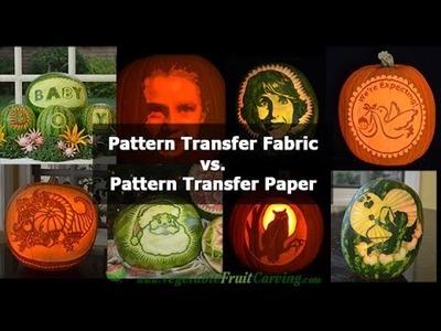 Pattern Transfer Paper vs. Pattern Transfer Fabric
