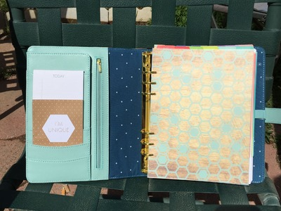 Plum Paper Planner in a Kikki K Personal Planner