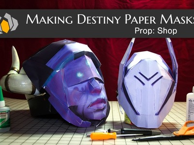 Prop: Shop - Destiny Festival of the Lost Paper Masks