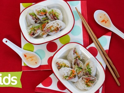 Vegetable and Beef Rice Paper Rolls Recipe