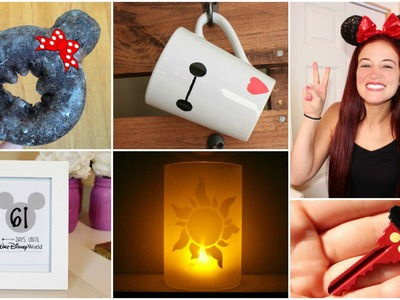 7 CHEAP AND EASY DISNEY DIY CRAFT IDEAS | PINTEREST INSPIRED