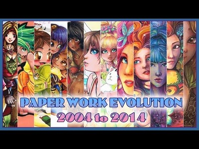 Artworks on Paper - Evolution from 2004 to 2014