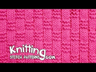 Basket Weave Ribbing stitch