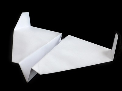 BOMBER paper airplane - No.13