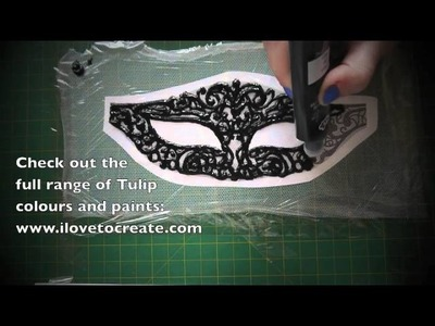 Crafty Creatives box 4 kit - GOTHIC - Masquerade Mask!