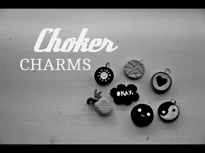 D.I.Y. - Choker charms ☯