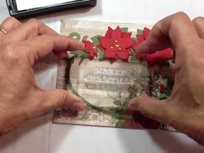 December 25th Christmas card and Layering Tips