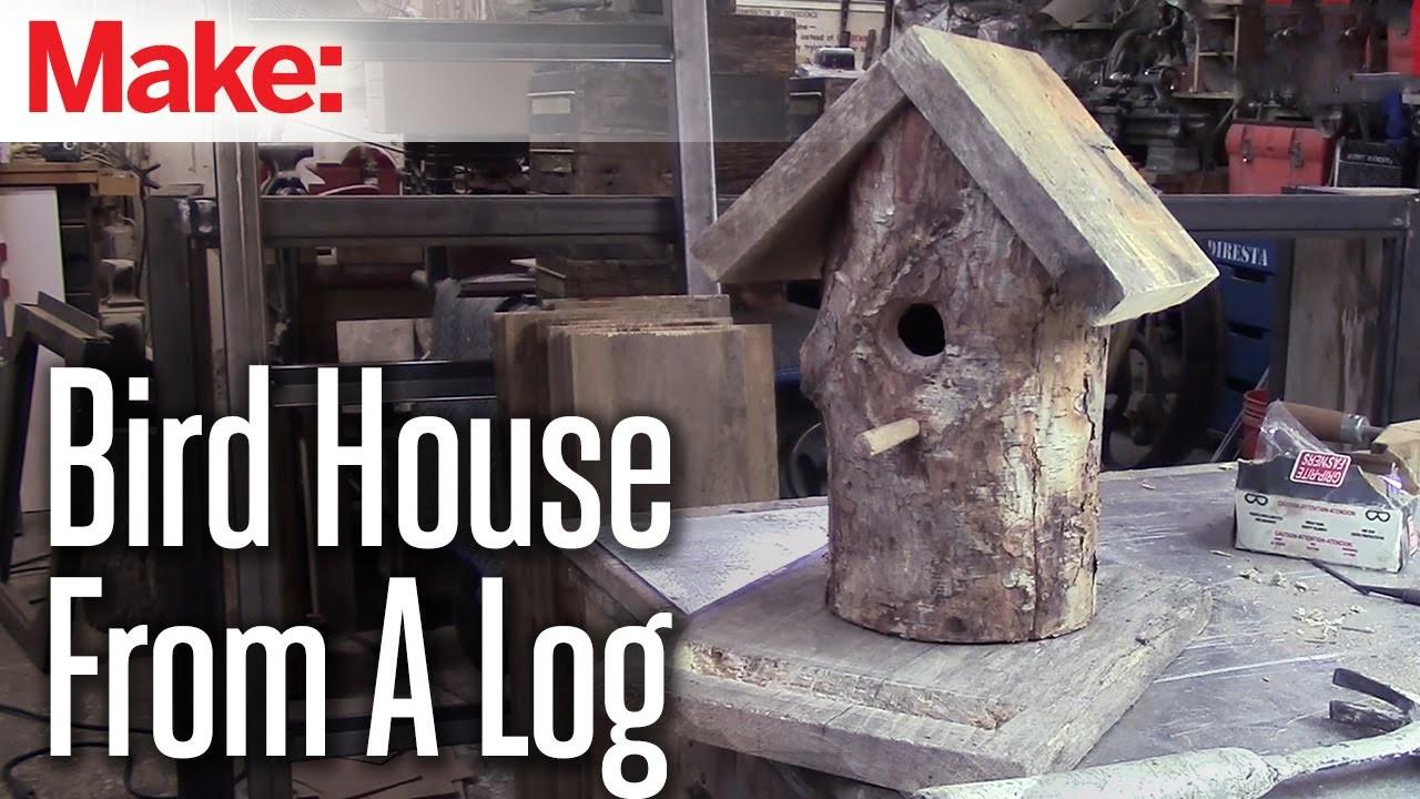 DiResta: Log Bird House