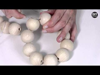 DIY by Panduro: Home Deco by Me, Wooden Balls