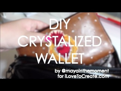 DIY CRYSTALIZED WALLET