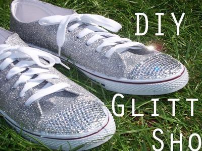 DIY: Glitter Trainers.Sneakers | PrincessAttitude99