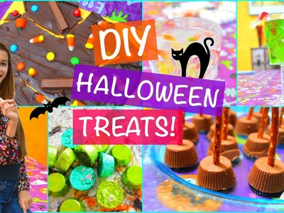DIY Halloween Party Treats And Snack Ideas! | Tatiana Boyd