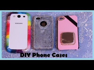 DIY Phone cases!! 3 modelos diferentes